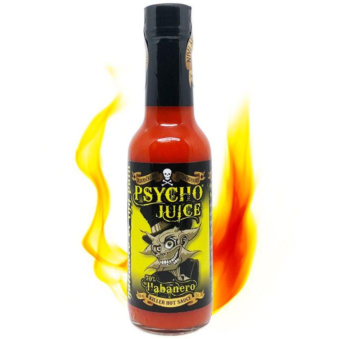 Sos iute Psycho Juice Extreme Ghost Pepper [iuteala 10+++] 3