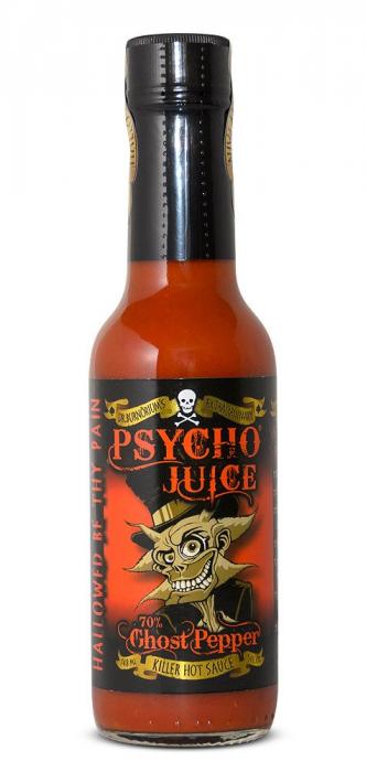 Sos iute Psycho Juice Extreme Ghost Pepper [iuteala 10+++] 2