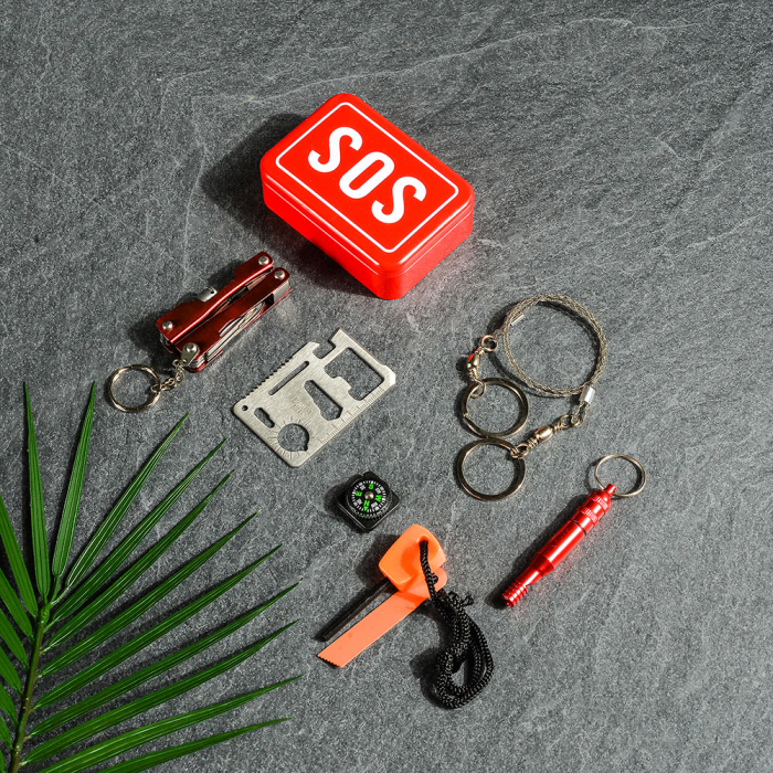 SOS Kit supravietuire multifunctional, 6 unelte [1]