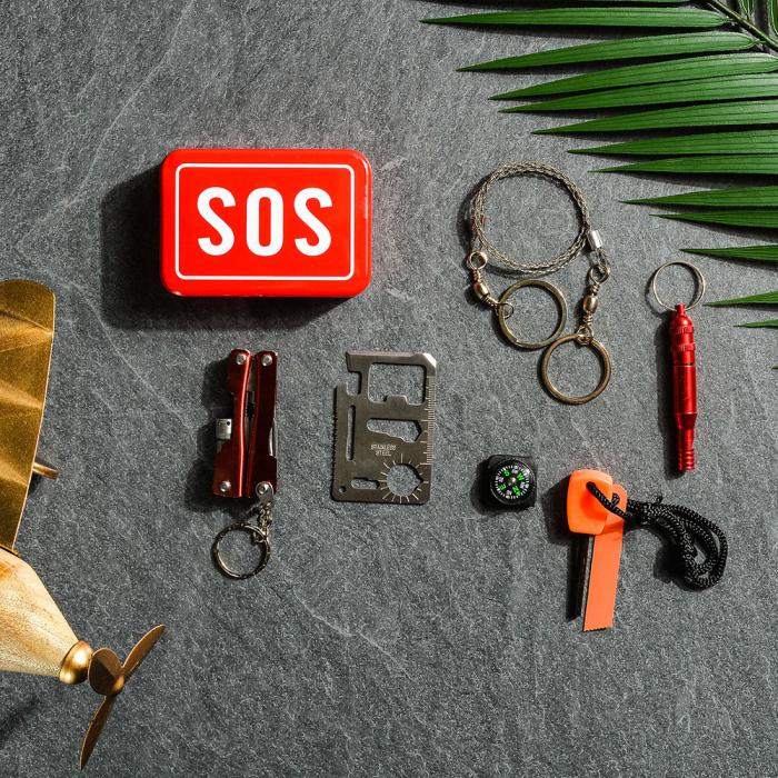 SOS Kit supravietuire multifunctional, 6 unelte [2]