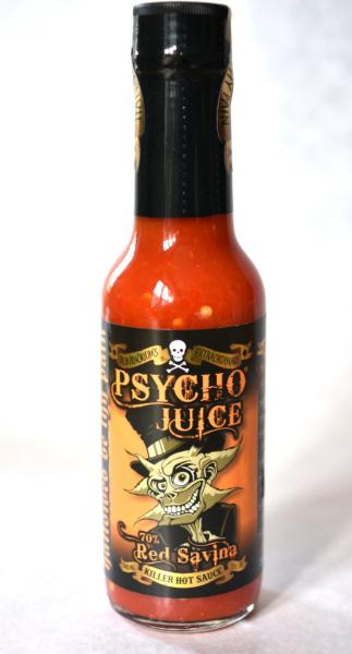 Sos picant Psycho Juice Red Savina Pepper [iuteala 9] 5