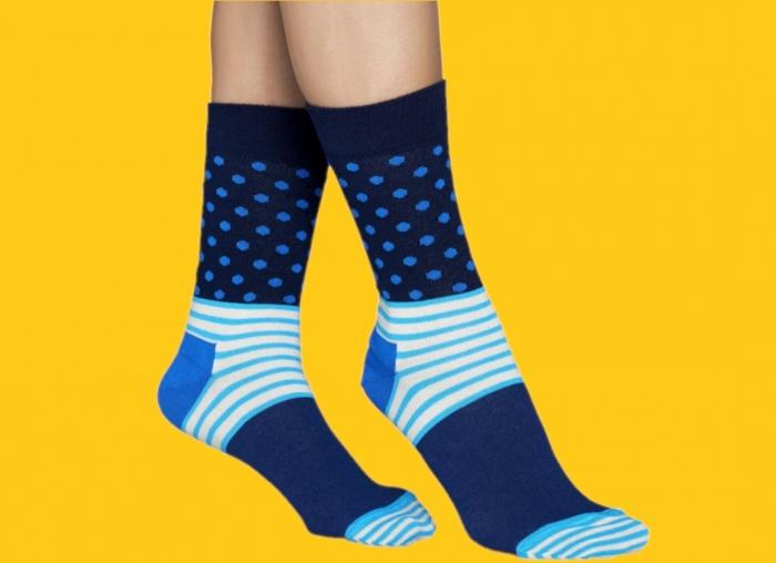 Sosete Happy Socks albastre funky 0