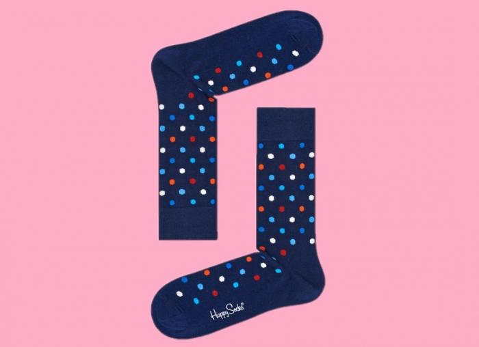 Sosete Happy Socks cu buline colorate 1