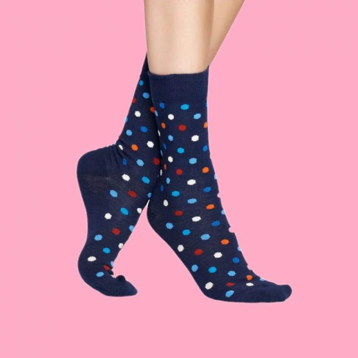 Sosete Happy Socks cu buline colorate 0