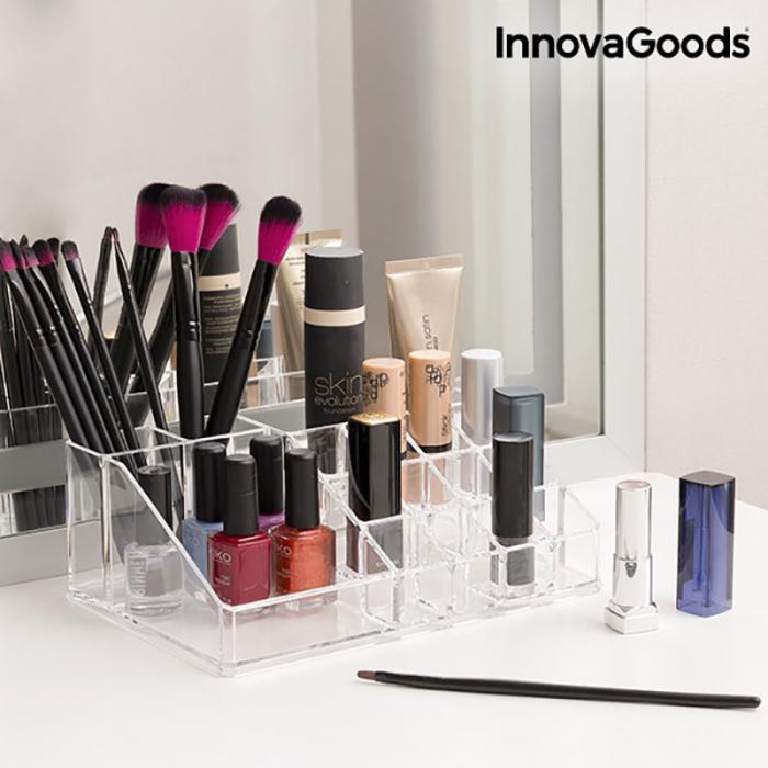 Organizator cosmetice machiaj cu 16 compartimente Makeup Dream 2
