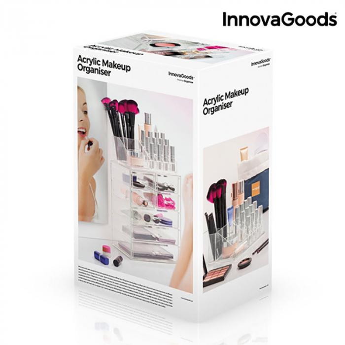 Organizator cosmetice machiaj cu 16 compartimente Makeup Dream 6
