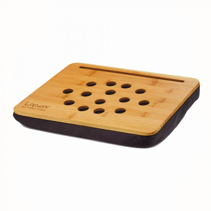 Suport bambus pentru tableta Mini Lapzer 1