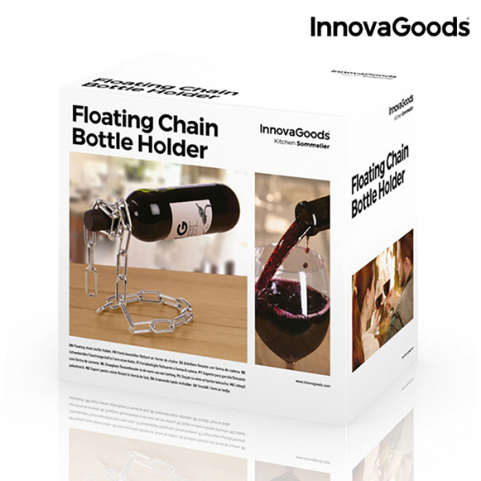 Suport lant sticla de vin Pluteste 4