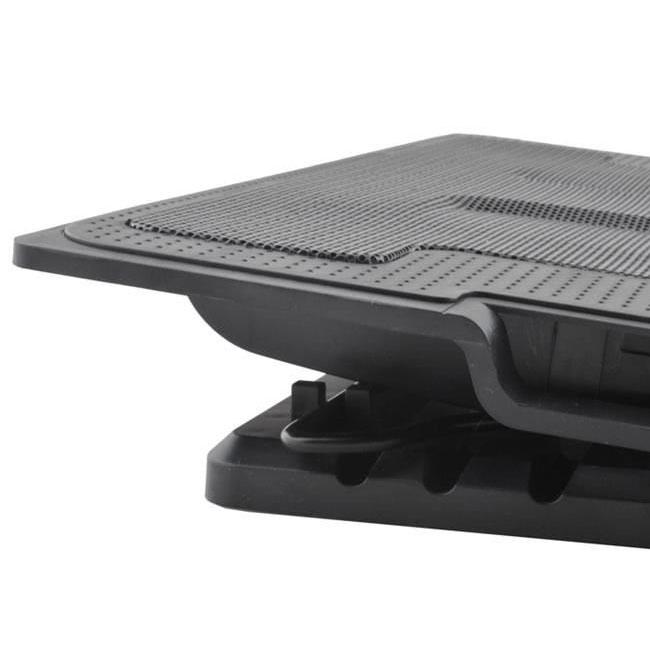 Suport laptop reglabil cu ventilator de racire LED 3
