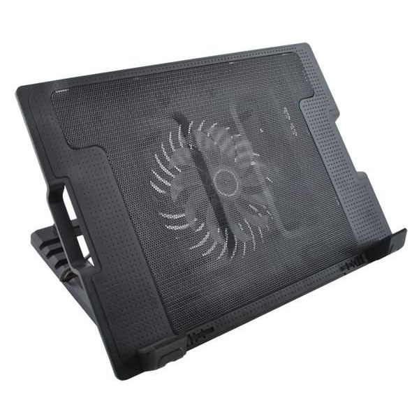 Suport laptop reglabil cu ventilator de racire LED 2