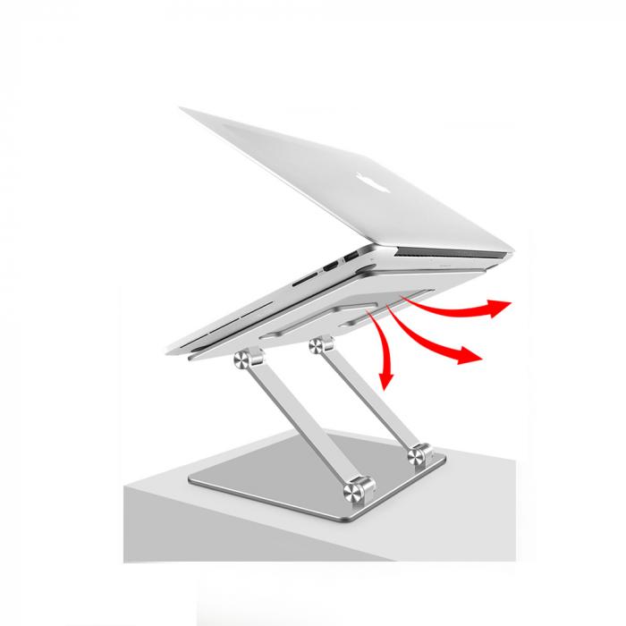 Suport masuta laptop pliabil si reglabil, din aluminiu [2]