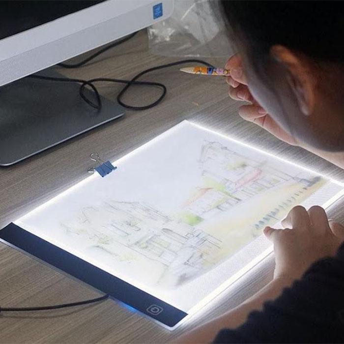 Tableta pentru desenat Led Ligh A4 Ultra-Subtire 0
