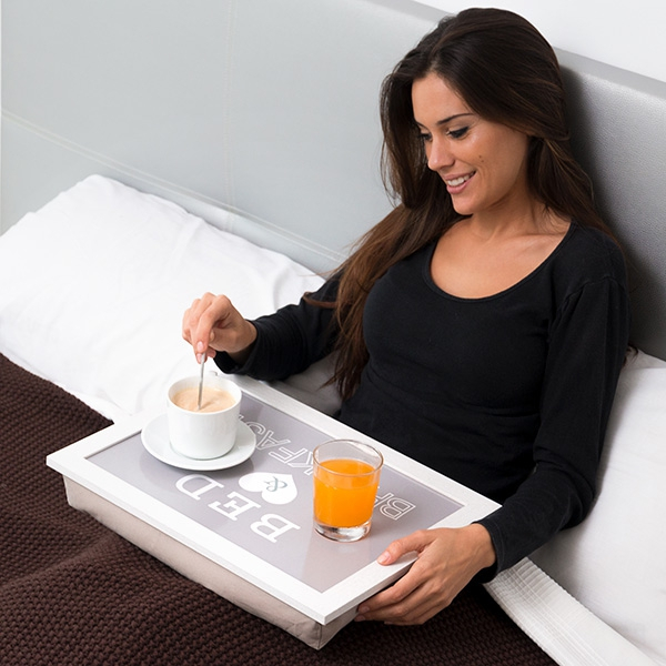 Tava cu alint Mic dejun la pat 0