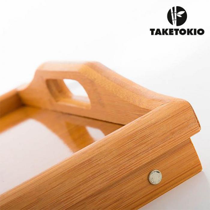 Tava din bambus Servire cu rasfat 1