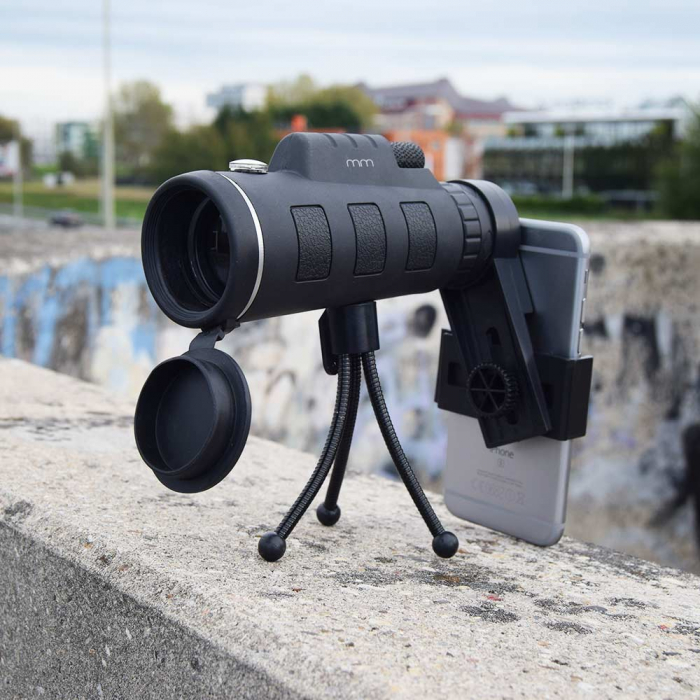 Telescop pentru telefon, cu stativ, Sneak a Peek 0