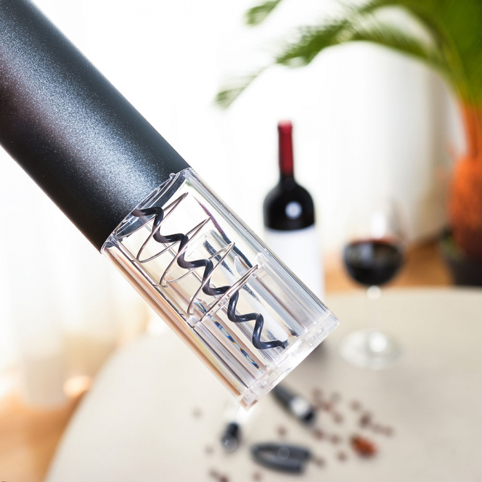 Tirbuson electric cu accesorii vin, set cadou 4 piese [3]