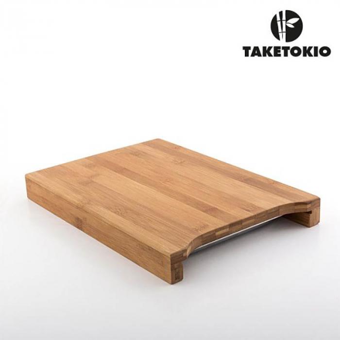 Tocator lemn bambus cu tavita operativa 5
