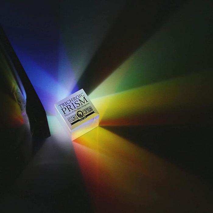 Trichroic Prism Spectacol stiintific de culoare 0