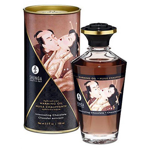Ulei afrodisiac Shunga cu aroma de ciocolata 1