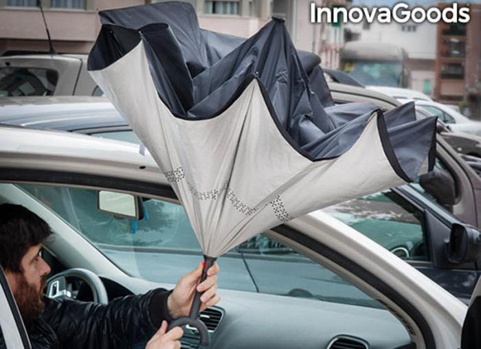 Umbrela cu pliere in sus 0