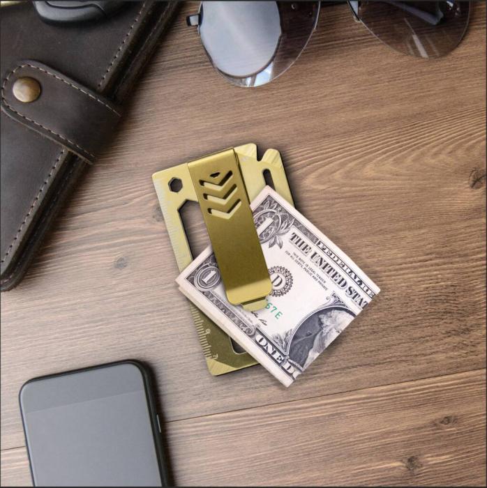 Unealta multifunctionala de buzunar 10 in 1, Money Clip [1]