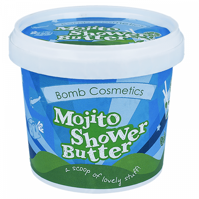 Unt de corp pentru dus Cocktail Mojito Bomb Cosmetics 2