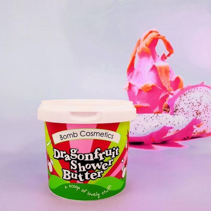 Unt de corp pentru dus Dragonfruit & Papaya Bomb Cosmetics 1
