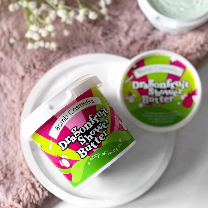 Unt de corp pentru dus Dragonfruit & Papaya Bomb Cosmetics 2