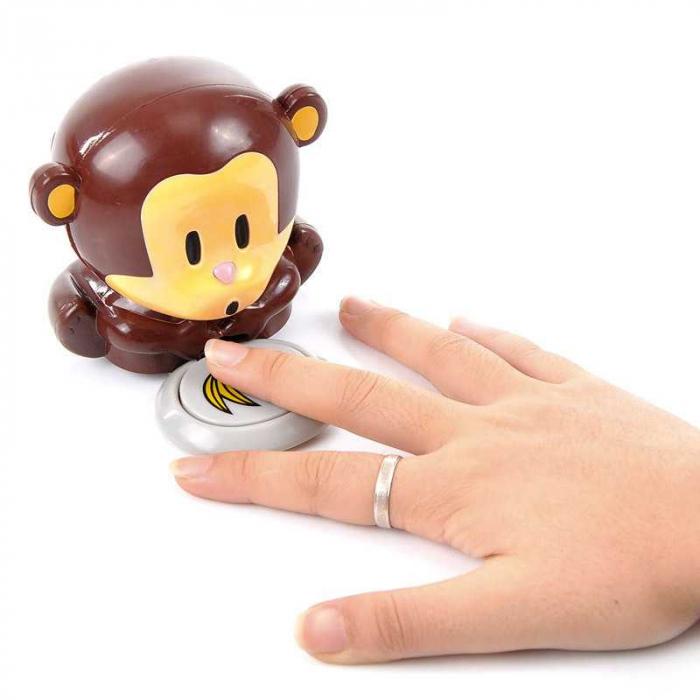 Uscator de unghii Funky Monkey 4