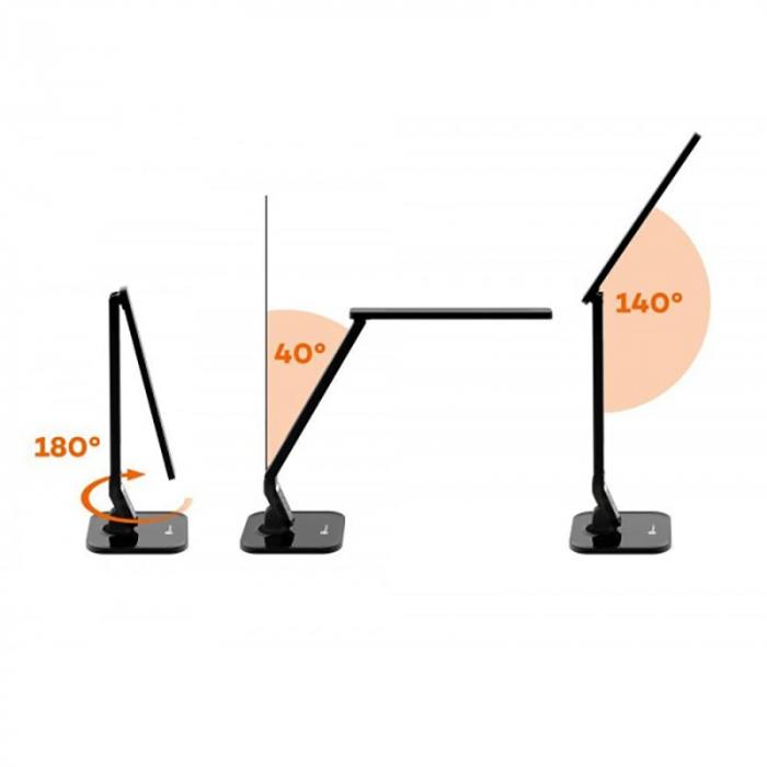 Veioza LED TaoTronics 4 moduri iluminare 530 lm 6