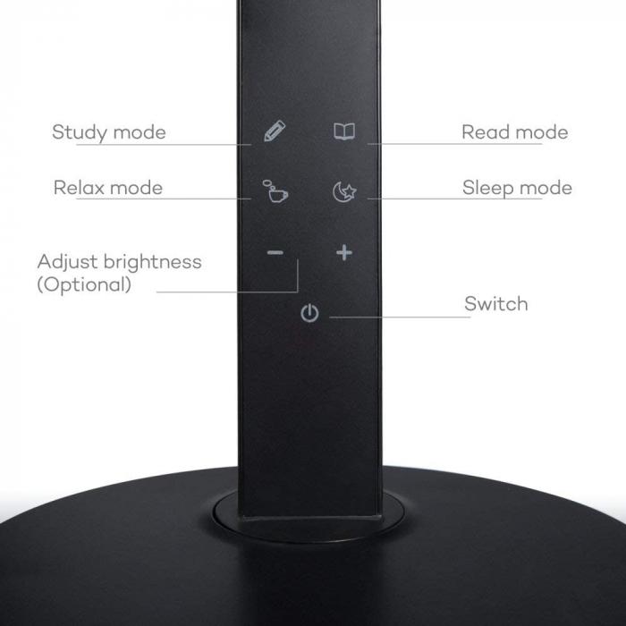 Veioza LED TaoTronics 4 moduri iluminare 600 lm 2