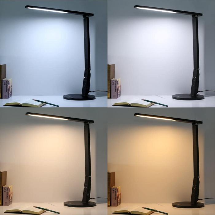 Veioza LED TaoTronics 4 moduri iluminare 600 lm 1