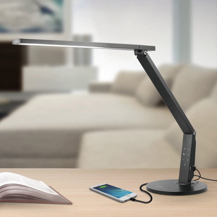 Veioza LED TaoTronics 4 moduri iluminare 600 lm 0