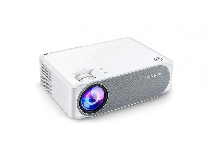 Videoproiector Vankyo Performance 6000 lumeni, cu geanta de transport, HDMI, LED, 1080p Native 9