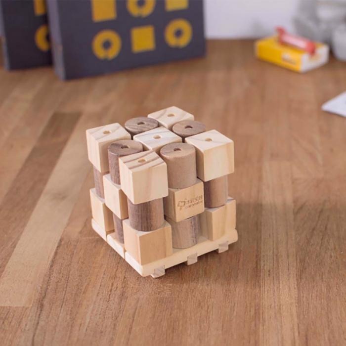 X si 0, Joc 3D din lemn 0