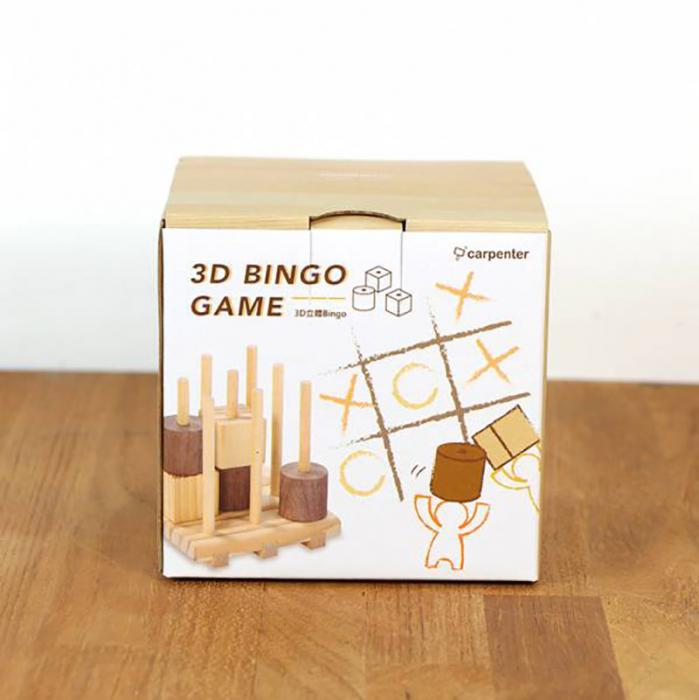 X si 0, Joc 3D din lemn 5