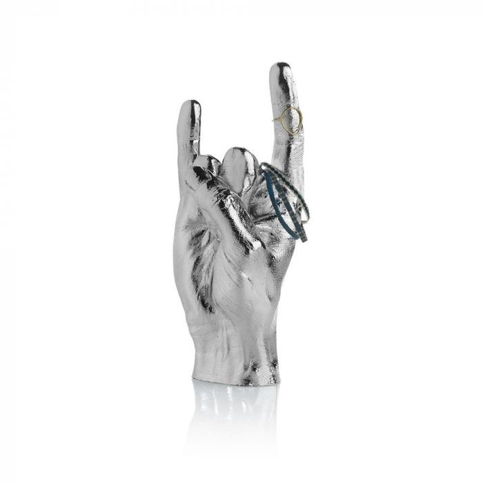 You Rock, suport si obiect decorativ, Silver 1