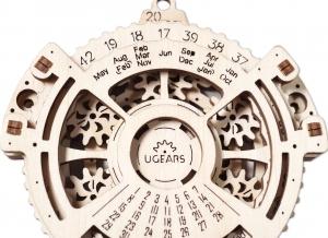 Calendar Steampunk din Lemn Ugears5