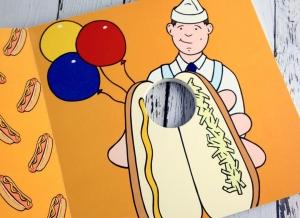 Carte ilustrata Penis Pokey6
