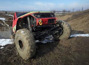 Experiență 100Tracks off-road  Academia Titi Aur1