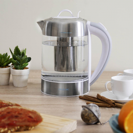 Fierbator apa cu filtru de ceai 1.7 litri0