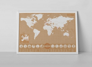 Harta Stamp Map - Originala Luckies3