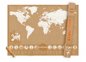 Harta Stamp Map - Originala Luckies2