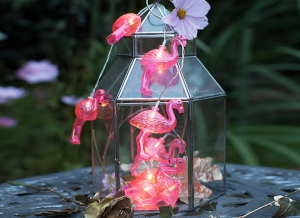 Instalatie de lumini Flamingo Roz4