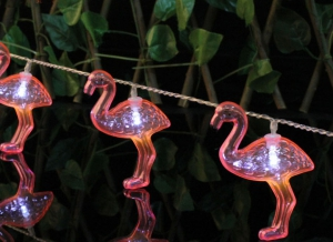 Instalatie de lumini Flamingo Roz7
