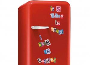 Litere magnetice frigider Fridge Bandits0