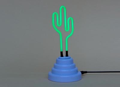 Lampa Neon Cactus3