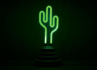 Lampa Neon Cactus5