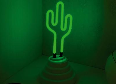Lampa Neon Cactus7