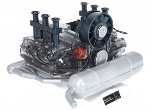 Motor Porsche boxer 6 cilindri - kit DIY7
